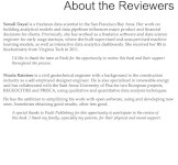 List of the reviewers
