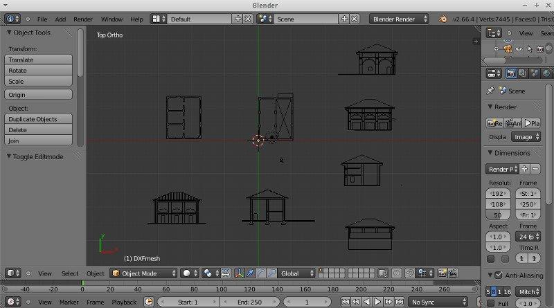 Import DXF into Blender & fast settings   Rainnic in the ...