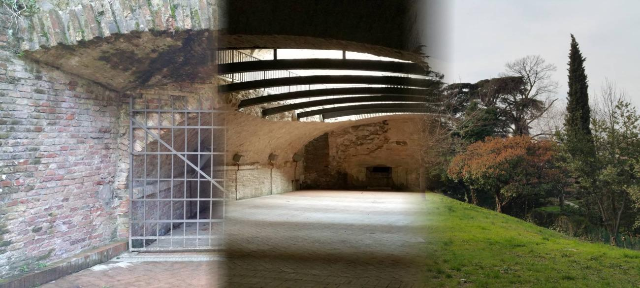 Alicorno bastion: a beautiful park and underground structure in Padua city