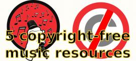 5 sites to add copyright-free music to your videos