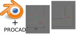 PROCAD 2.60 in Blender 2.49b: installation