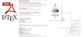 Thesis template with LaTeX