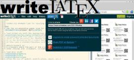 LaTeX online? WriteLaTeX of course!