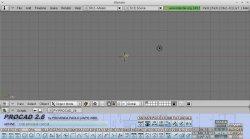 Blender 2.49b with PROCAD 2.6