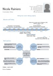 An example of a LaTeX infographic CV