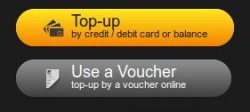 Secondly choose Use a Voucher (in the middle right side of your My giffgaff page)