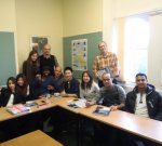 My classroom at Eastbourne School of English
