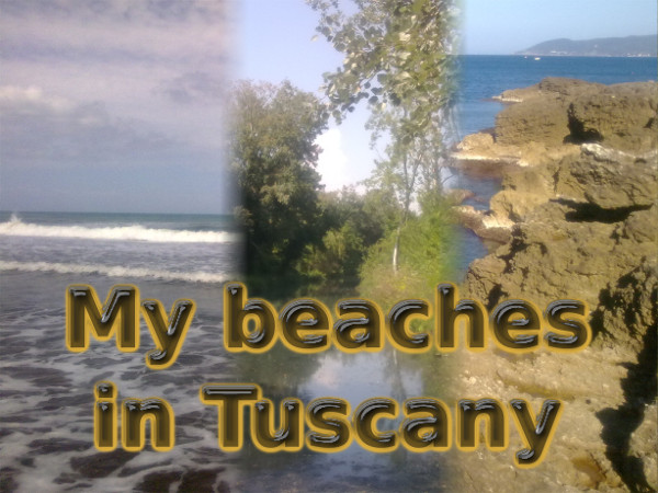 The beach locations seen during my adventure at Pisa
