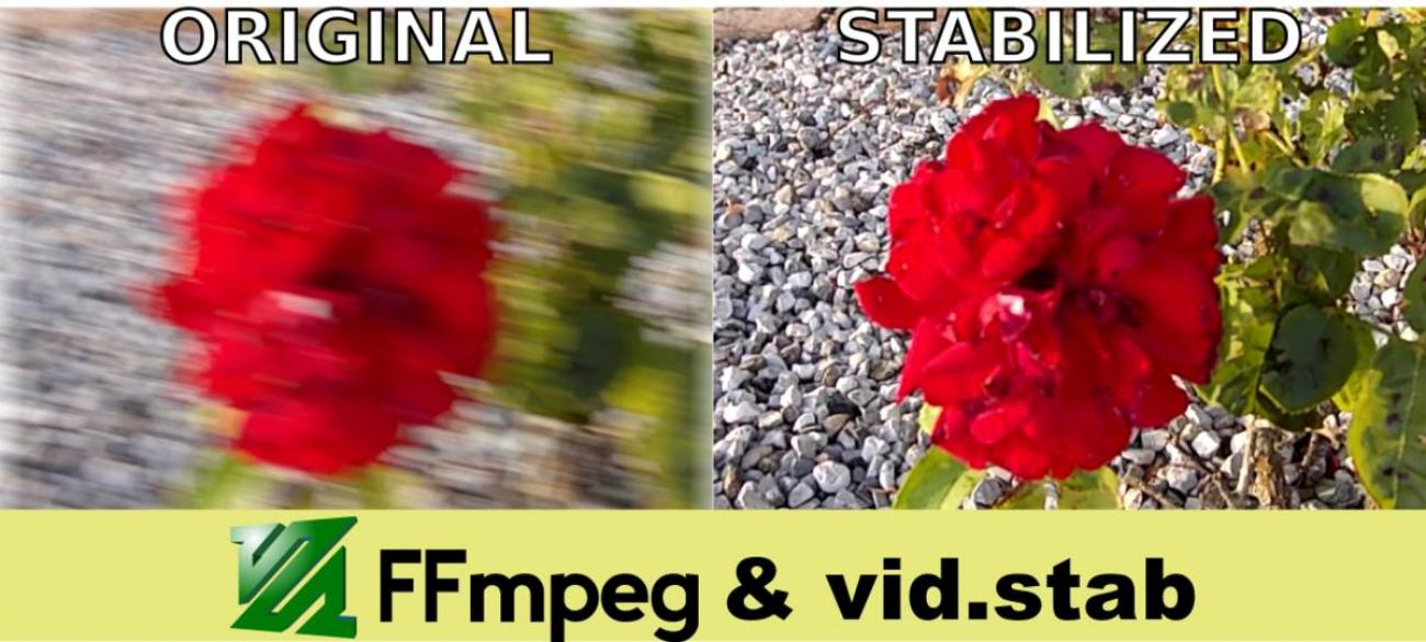 Come stabilizzare un video usando FFmpeg e vid.stab