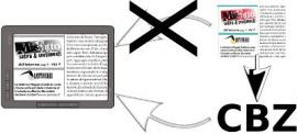 How to convert PDF to CBZ for a better legibility on eReader