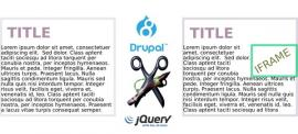 Two steps to embedding an iframe in every page and into a fixed position of a Drupal 8 site using jQuery