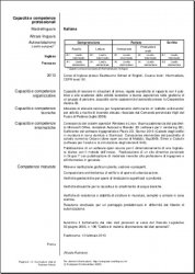 My Europass CV (Italian version) page 2 of 2