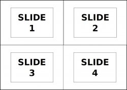 Example of the 4-slide input file