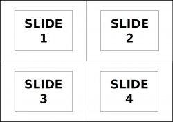 Esempio visivo del file di input 4-slide