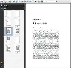 A PDF without bookmark