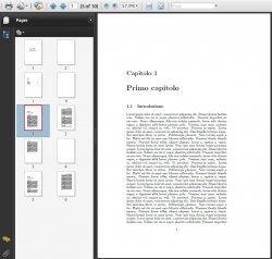 Un PDF senza bookmark