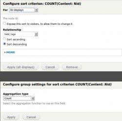 Add in Sort Criteria the Content: Nid item