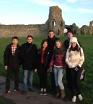 At the Pevensey Castle
