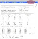 Stampa completa di tutti i calcoli della rete nella webapp fognatura bianca